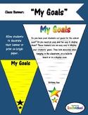 Goal Setting Class Banner