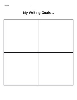 Goal Setting Conference Sheet