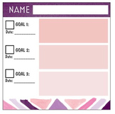 Goal Setting Conference Sticky Notes for Teachers & Students