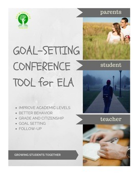 Goal Setting Conference Tool for ELA