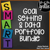 Goal Setting & Data Portfolio {BUNDLE} - SCHOOL LICENSE