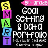 Goal Setting Data Portfolio & Data Notebook for Fifth Grade