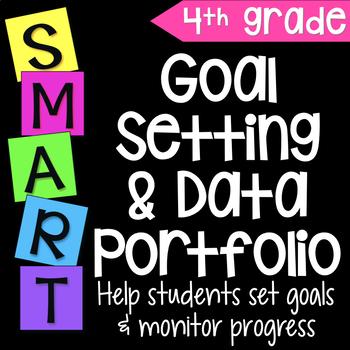 Goal Setting & Data Portfolio {Fourth Grade}
