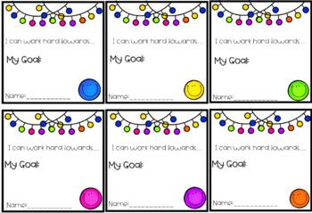 Goal Setting Desk Notes