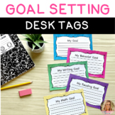 Goal Setting Desk Toppers - Brushed Color Backgrounds
