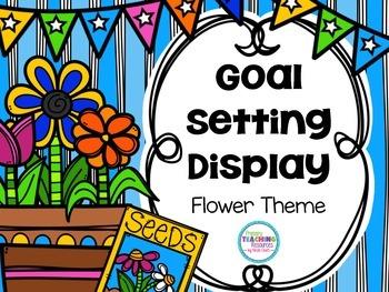 FREE Goal-Setting Display: Spring