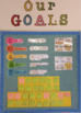 Goal Setting - Display and worksheets