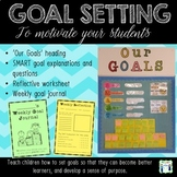 New Year 2019 Goal Setting - Display and worksheets