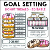 Goal Setting Donut Themed Common Core Writing and Math