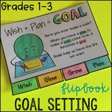 Goal Setting Mini Flipbook and Bookmarks