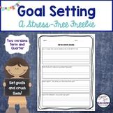 Goal Setting Freebie