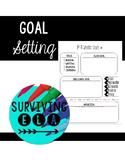 Goal Setting Graphic Organizers