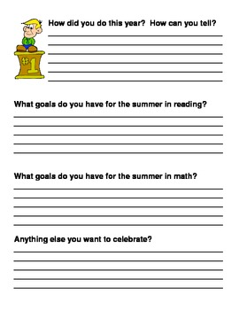 Goal-Setting Graphs (aligned to NWEA-MAP tests)