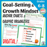 Goal-Setting & Growth Mindset Slideshow & Graphic Organize