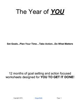 Goal Setting Guide for Teens