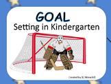 Goal Setting In Kindergarten-Hockey Theme