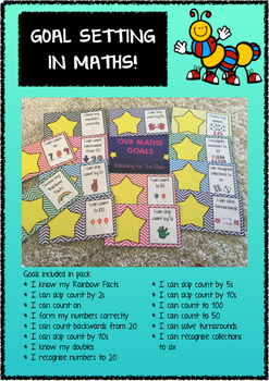 Goal Setting In Maths - Visible learning