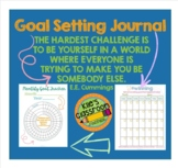 Goal Setting Journal and Planner - Student Self Care Organizer