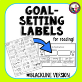 Goal-Setting Labels for Readers! BLACK AND WHITE ONLY