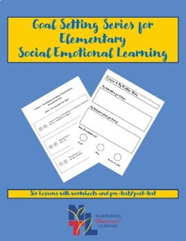 Goal Setting Lesson Plans for Elementary Students