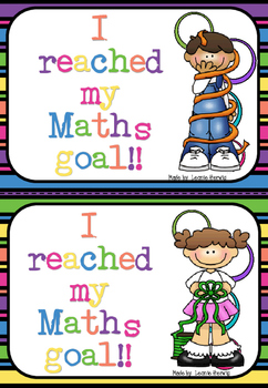 Goal Setting – Maths - free