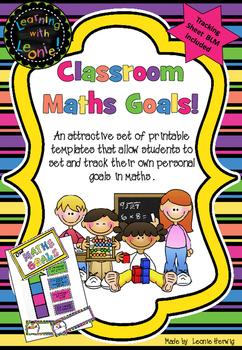 Goal Setting – Maths - free