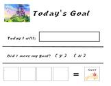Goal Setting My Little Pony Theme