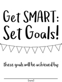 SMART Goals: Goal Setting Interactive Notebook