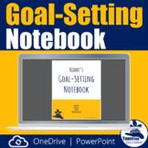Goal-Setting Notebook for OneDrive - Goals, Data Tracking,