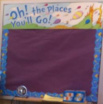 Goal Setting: Oh! The Places We'll Go - Complete Set!