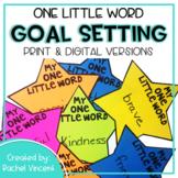 Goal Setting - One Little Word