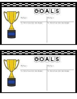 Goal Setting & Parent Letter