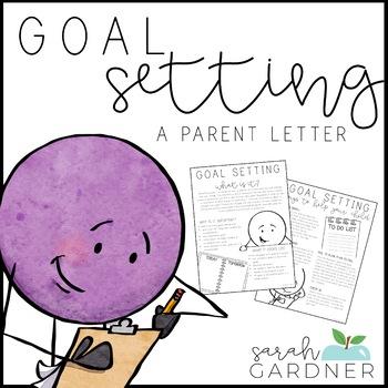 Goal Setting Parent Letter