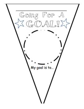 Goal Setting Pennant