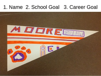 Goal Setting Pennants