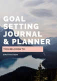 Goal Setting Planner & Journal