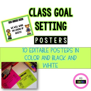 Goal Setting Posters