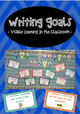 Goal Setting Posters For Writing - Visible learning in the classroom