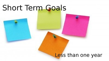 Goal Setting Power Point
