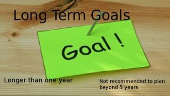 Goal Setting Power Point