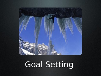 Goal Setting PowerPoint