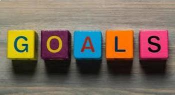 Goal Setting PowerPoint, Notesheet & Worksheets