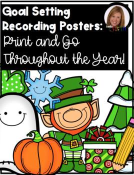 Goal Setting Progress Posters