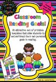 Goal Setting – Reading - free