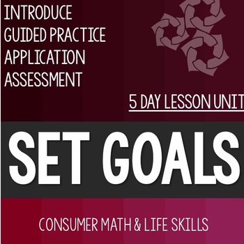 Goal Setting Related to Math- High School Special Education