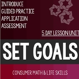 Setting Goals Related to Math and Life- High School Special Education