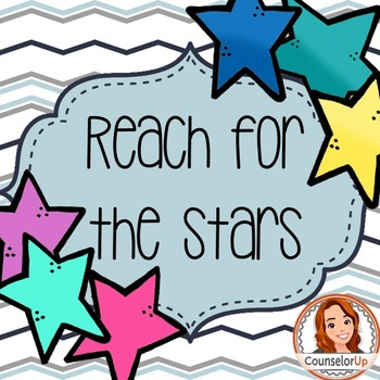 Character Ed Lesson on Self Discipline & Goal Setting: Reach for the Stars