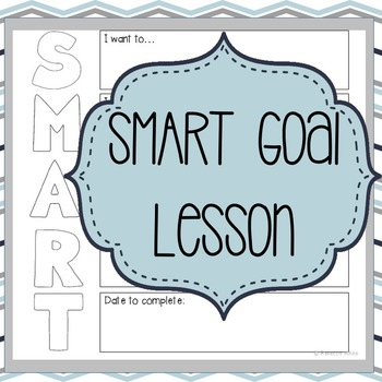 Character Ed: Self Discipline - SMART Goal Setting Lesson by Counselor Up