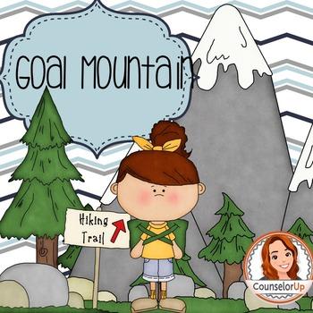 Character Ed Lesson on Self Discipline & Goal Setting: Goal Mountain Game