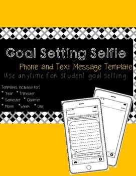 Goal Setting Selfie